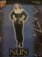 SISTER/NUN OUTFIT FANCY DRESS WITH BELT + CROSS 10-14
