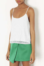Topshop Daisy Embellished Beaded Cami Top , UK Size 6 , RRP - £36
