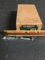 """One (1) NOS Vintage STANLEY # 208, Replacement Level Glass 2-1/2"""" L x 3/8"""" Thick"""