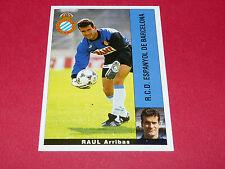 RAUL ARRIBAS ESPANYOL BARCELONA PANINI LIGA 95-96 ESPANA 1995-1996 FOOTBALL