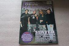 Metal Hammer 8/2002 SLAYER,Sepultura,Papa Roach,Slipknot,Faith No More,Artrosis