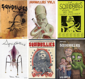 Squidbillies Complete TV Series Season Volume 1 2 3 4 5 & 6 (1-6) NEW DVD Set