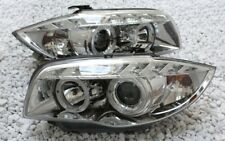 Vetro Chiaro Cromo Set Fanali Luce Diurna LED Tfl BMW E87 1 2004-2011 Lwr