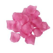 10x(100 Hot qualita' di seta rosa petali di rosa coriandoli / matrimonio