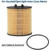 Ölfilter mit Dichtung Für Vauxhall/Opel Agila Corsa Meriva Rubber #9192425 Auto