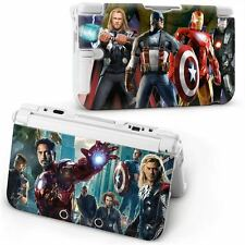 SUPER HEROES AVENGERS LEGO MARVEL HARD CASE COVER FOR NEW NINTENDO 3DS XL