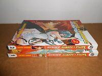 The Battle of Genryu: Origin Vol. 1-2 Manga Graphic Novel Book Lot English CMX