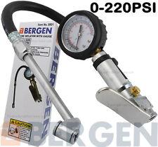 BERGEN Professional Tyre Inflator With Gauge Air Line Tyre Pump Pressure Tester