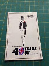 40 Years On : Apollo Theatre