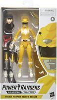 Power Rangers Mighty Morphin Yellow Ranger Lightning 6-Inch Action Figure