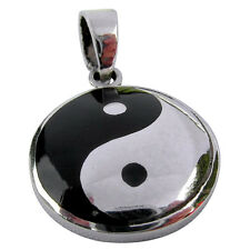 Sterling Silver (925)  Ying  Yang  Pendant  ( 5 grams )   !!     Brand  New  !!