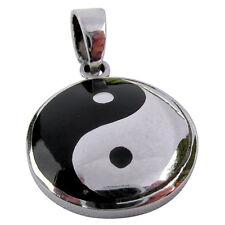 Sterling Silver (925)  Ying  Yang  Pendant  ( 5 grams )   !!     Brand  New  !!