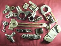 Vintage Chrome Nautical Hardware Marine Boat Hardware Lot