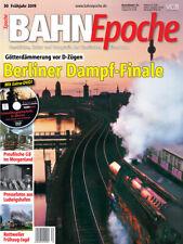 BahnEpoche 30 Berliner Dampf-Finale mit DVD