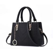 Women Handbag Faux Leather Ladies Tote Cross Body Shoulder Bag Purse Satchel Lot