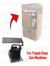 Refrigeration System for Triple Deep Ardac Vending Machines