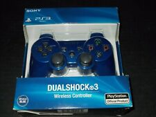 Sony PS3 Playstation DualShock 3 Wireless Bluetooth Controller Blue New Sealed