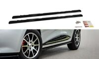 SIDE SKIRTS ADD-ON DIFFUSERS RENAULT CLIO MK4 (2012-2016)