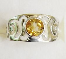 Citrine Ring in 925 Sterling Silver size 9