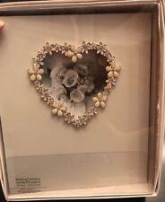 New Inhabit Wedding Collection Photo Album-Floral Rhinestone Heart,High Quality!