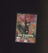 1999 Skybox NBA Hoops Decade Up Tempo #1UT Allen Iverson Philadelphia 76ers