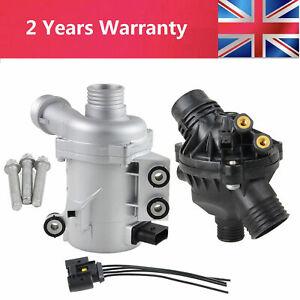 Electric Coolant Water Pump w/Thermostat Kit for BMW 1 3 5 6 7series X1 X3 X5 Z4