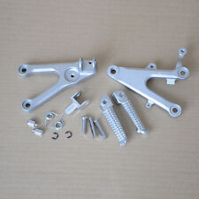 KIM Front Footrest Foot Pegs Bracket For 2003-10 04 05 06 07 08 09 Yamaha YZF R6