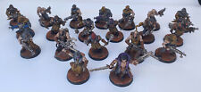 Warhammer 40K Dark Vengeance Chaos Cultists, (20 miniatures) Pro painted