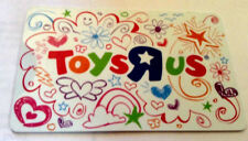 RARE TOYSRUS TOYS&GIFTS GIFT CARD RECHARGEABLE BILINGUAL !