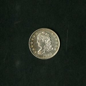 US Coin 1829 Capped Bust Silver Half Dime NO RESERVE!