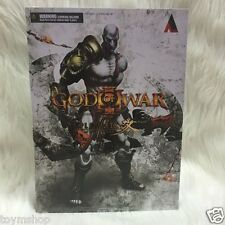 New Variant Play Arts Kai God of War III Kratos Action Figure Statue Toy