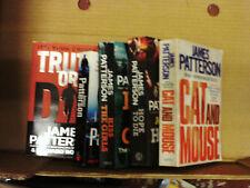 5 different james patterson novels