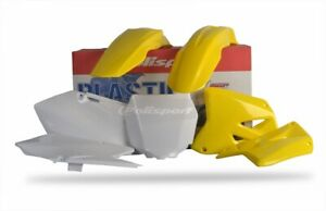 Polisport New Plastic Kit Set Yellow Complete Suzuki RM125 01-07 RM250 01-08