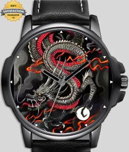 Chinese Dragon Unique Wrist Watch FAST UK