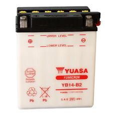 BATTERIA YUASA YB14-B2, 14A, POSITIVO SX, 134X89X166MM CODICE 0651438