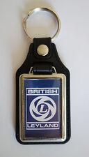 BRITISH LEYLAND FAUX LEATHER KEY RING / KEY FOB.BRITISH LEYLAND CARS.