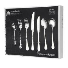 STANLEY ROGERS 56 Piece Stainless Steel MANCHESTER 56pc Cutlery Set