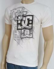 DC Shoes Visual Stars Graphic Tee White 100% Cotton T-Shirt New NWT Men's Small