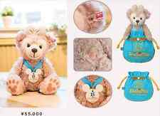 Tokyo Disney Sea 15th Duffy x Steiff 3000 limited Shellie May Plush Doll Bear JP