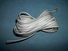 24 foot gray supply line cord,Modular jackon one end, Parts!