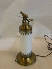 Vintage Curling Trophy Style Table Lamp