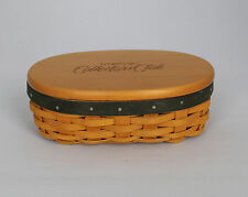Longaberger Collectors Club Harmony #5 Basket Oval Shaker
