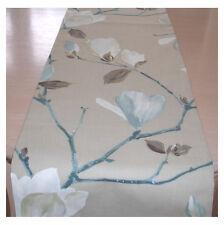 "Table Runner 5ft Magnolia Duck Egg Ivory Cream Taupe Beige Brown  60"" 150cm"