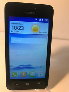 Huawei Ascend Y330 - 4GB - Black (Unlocked) Smartphone Mobile - Fully Working