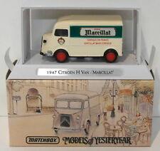 Matchbox 1/43 Scale Diecast YTF4 - 1947 Citroen Type H Van - Marcillat