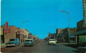 Autos Dana Ana County Las Cruces New Mexico #21 1950s Postcard Schaaf 20-6616