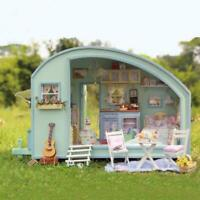 DIY Miniature Dollhouse Mini 3D Wooden House Craft Creative Gift For Kids Adult