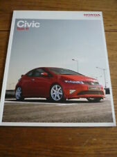 HONDA CIVIC TYPE R BROCHURE 2007