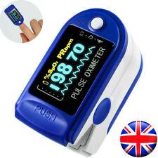 Fingertip Pulse Oximeter Oxygen Saturation Meter SPO2 PR Blood Monitor Finger UK