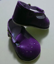 NIP- Dark Purple Color Baby Mary Janes fit Bitty Baby and Similar Sized Dolls